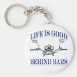 Life Is Good Behind Bars Key Chains