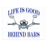 Life Is Good Behind Bars Post Cards