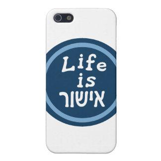 Life is good in Hebrew iPhone 5 Cases