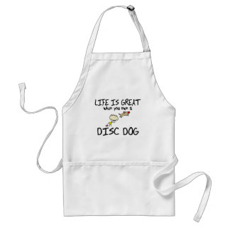 Life is Great Disc Dog Apron