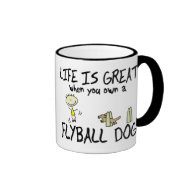 Life is Great Flyball Mug