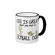 Life is Great Flyball Mug