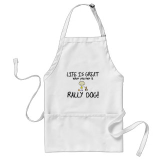 Life is Great Rally Obedience Aprons