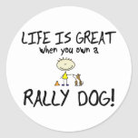 Life is Great Rally Obedience Stickers