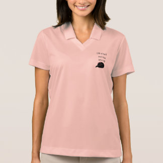 Life is Hard and Then You Nap Polo Shirt
