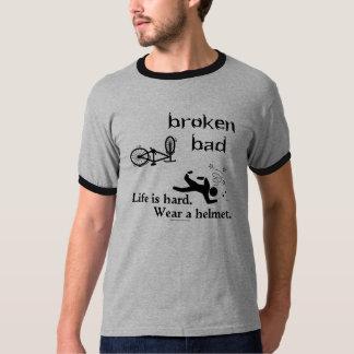 Life is hard. Wear a helmet. T Shirt