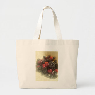 Life is just a bowl of berries canvas bag