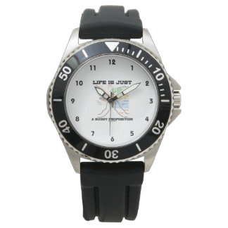 Life Is Just A Buggy Proposition (Mosquito Humor) Wristwatch
