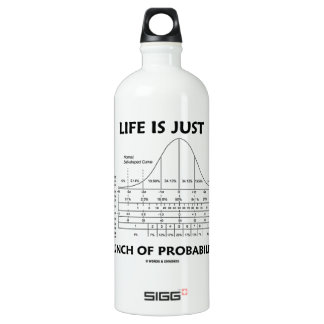 Life Is Just A Bunch Of Probabilities (Stats Fun) Water Bottle