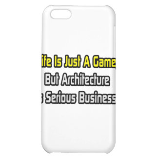 Life Is Just a Game .. Architecture Is Serious Case For iPhone 5C