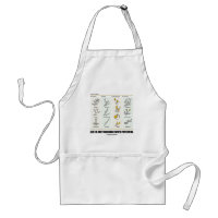 Life Is Just Budding With Potential (Bud Types) Adult Apron
