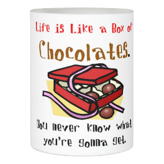 Life is Like a Box of Chocolates Flameless Candle