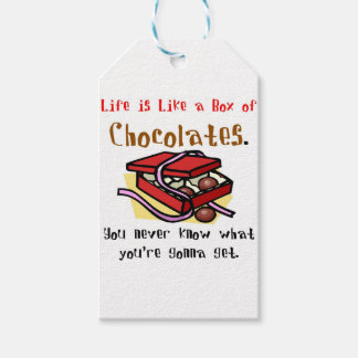 Life is Like a Box of Chocolates. Gift Tags
