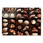 Life is like a box of chocolates sweet dessert greeting card