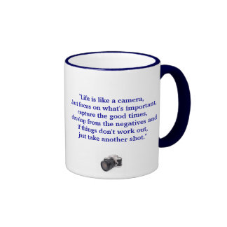Life is Like A Camera - Mug