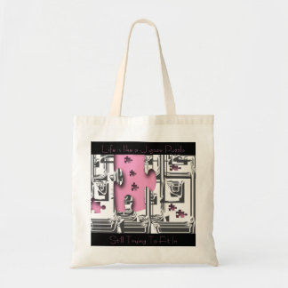"""Life is like a Jig-saw Puzzle""* Tote Bags"