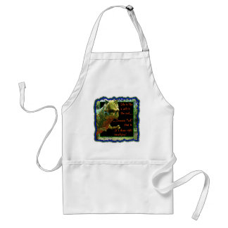 Life is like a walk in the park adult apron