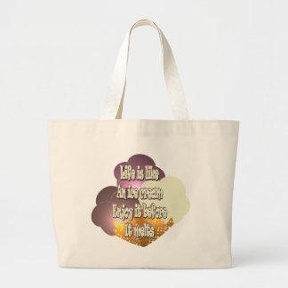Life Is Like An Ice Cream... Bag