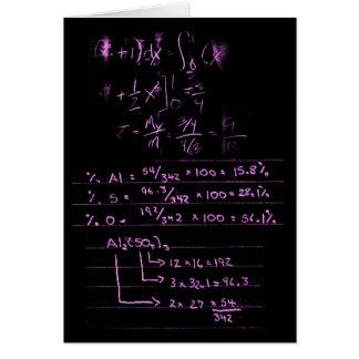 Life is like Math Card