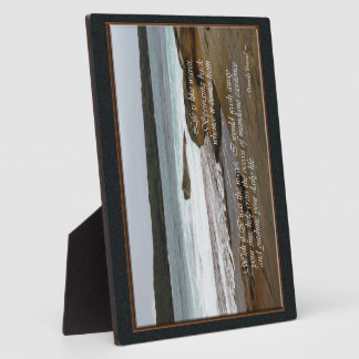 Life is Like Waves - Ocean View Water Plaque
