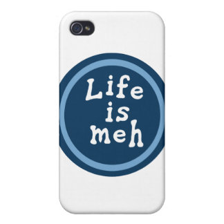 Life is Meh iPhone 4/4S Covers