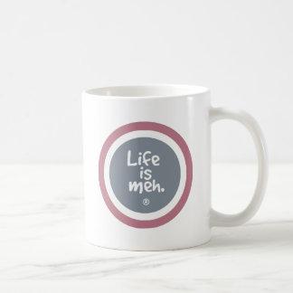 Life is Meh Coffee Mugs