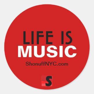 Life Is Music Sticker
