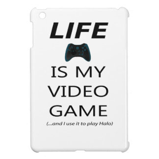 Life Is My Video Game (Halo) iPad Mini Cases