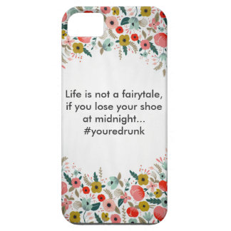 Life is Not A Fairytale iPhone SE/5/5s Case