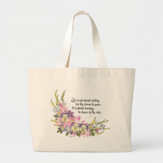 Life is not about canvas bag