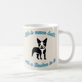 Life is not dull - Boston Mugs