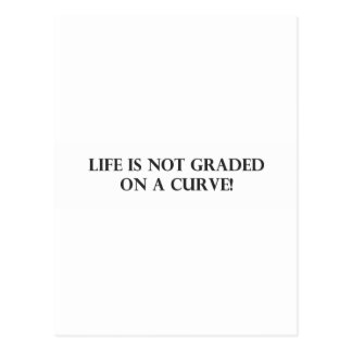 Life is Not Graded on a Curve.pdf Post Card