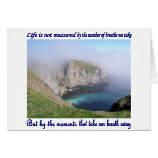 Life is Not Measured Card