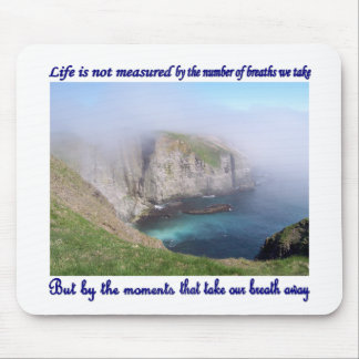 Life is Not Measured Mouse Pad