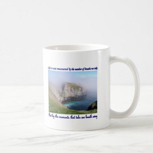 Life is Not Measured Mugs