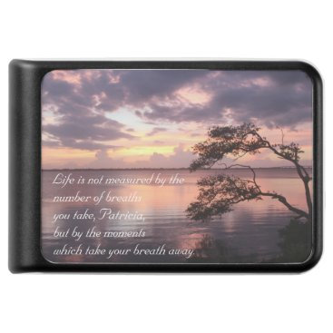 Beach Themed Life Is Not Measured Personalized Sunset Charger / Power Bank