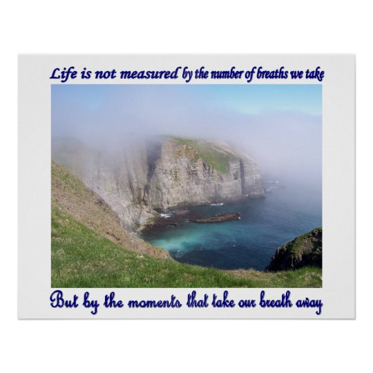 Life Is Not Measured Poster