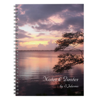Life Is Not Measured Purple Sunset Journal /