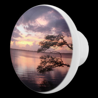 Life Is Not Measured Sunset Custom Kitchen Knob /