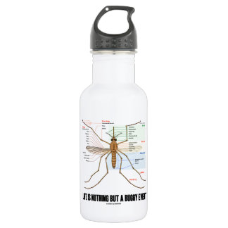 Life Is Nothing But A Buggy Event (Mosquito Humor) 18oz Water Bottle