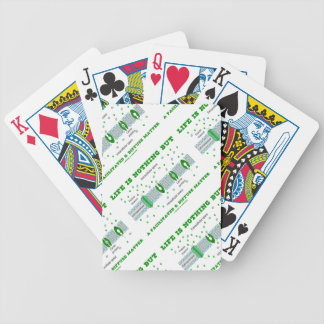 Life Is Nothing But A Facilitated & Diffuse Matter Bicycle Playing Cards