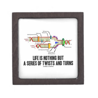 Life Is Nothing But A Series Of Twists And Turns Premium Gift Boxes