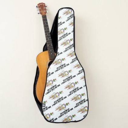 Life Is Nothing But A Series Of Twists & Turns DNA Guitar Case