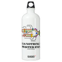 Life Is Nothing But A Twisted Event (DNA Humor) SIGG Traveler 1.0L Water Bottle