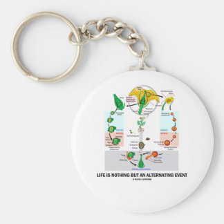 Life Is Nothing But An Alternating Event Keychain
