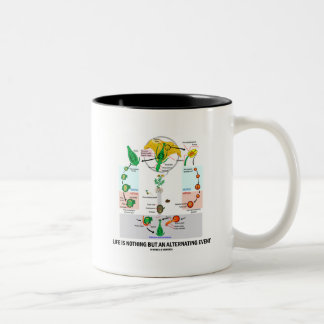 Life Is Nothing But An Alternating Event Two-Tone Coffee Mug