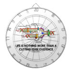 Life Is Nothing More Than Cutting Edge Existence Dart Board