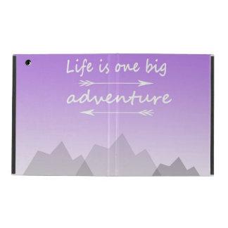 """Life is one big adventure"" iPad 2/3/4 case iPad Cases"