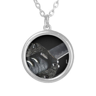 Life Is Only Available In The Present Moment Silver Plated Necklace