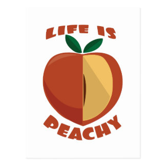 Life Is Peachy Postcards